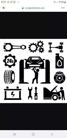 Mecánico automotriz y en general señor Franklin chirinos