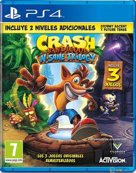 Crash Bandicoot Remastered Collection PS4