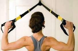 Bandas Trx con anclaje para puerta, ¡Haz ejercicio donde sea!