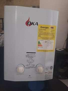 Calentador de agua a gas tipo paso continuo