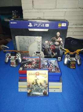 PS4 edición god of ward