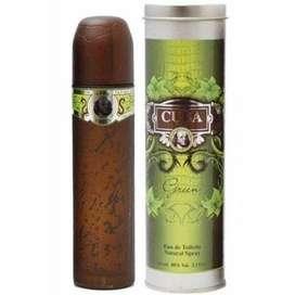 Perfume Cuba Green para Caballero 100ml ORIGINAL Envio a Bogotá GRATIS