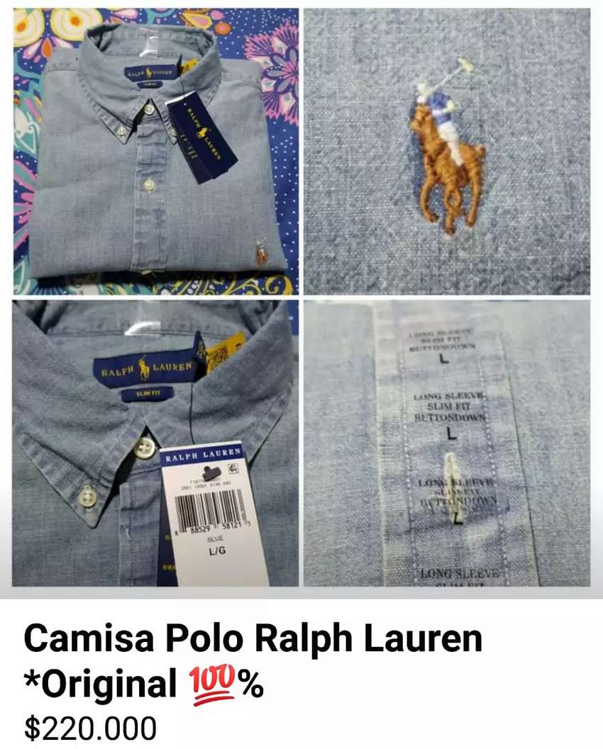 Camisa Ralph Lauren, Slim Fit *Original