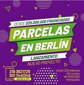 LANZAMIENTO DE PARCELAS EN BERLIN