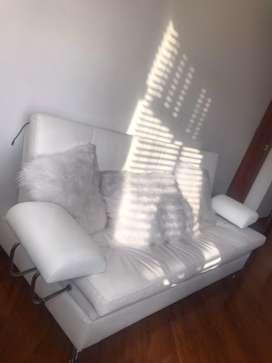 Sofa cama blanco