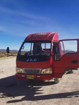 Vendo camioncito JAC de dos y medio ton.