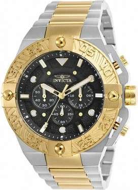 Reloj Hombre Invicta Pro Diver Crono Plateado Negro 25846