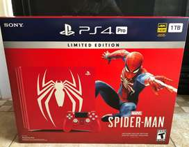 PLAYSTATION 4 SPIDERMAN 1TB ps4