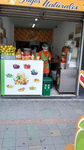 Negocio de comidas acreditado en el restrepo