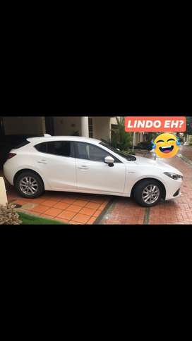 Mazda 3 2015 Hatschback Blanco