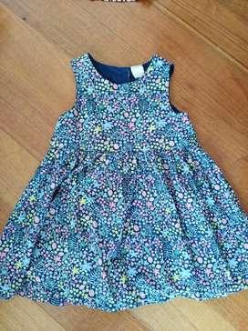 Vestido Niña marca. H&M. Edad 1.5 - 2 años