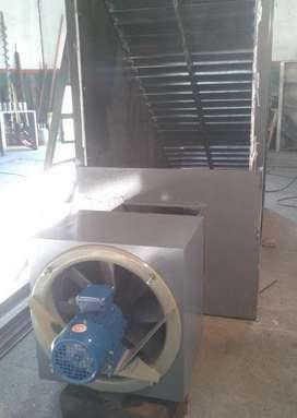 Secadora Industrial de granos y semillas