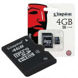 USBS y MEMORIAS Nuevas( 4GB-8GB-16GB-32GB)