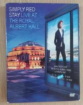 DVD Concierto Simply Red Live Royal Albert Hall ¡Importado!