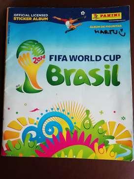 ÁLBUM DE FIGURITAS FIFA WORLD CUP BRASIL 2014