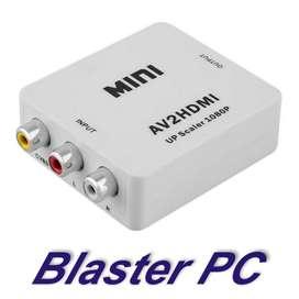 Adaptador Conversor Rca A Hdmi Zona Alto Rosario Blaster Pc