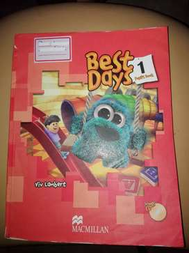 Best days 1 pupil's book