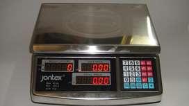 Balanza Electrónica 40kG Acero inoxidable