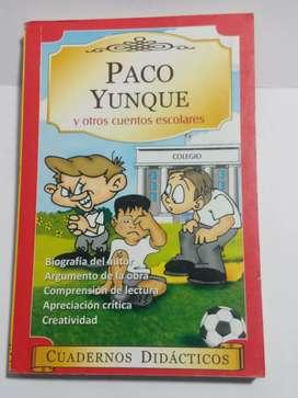 LIBRO PACO YUNQUE
