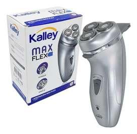 Máquina Afeitadora Eléctrica Kalley Max Flex + Patillera