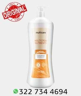 Crema hidratante Multicare Nutrients (1 litro)