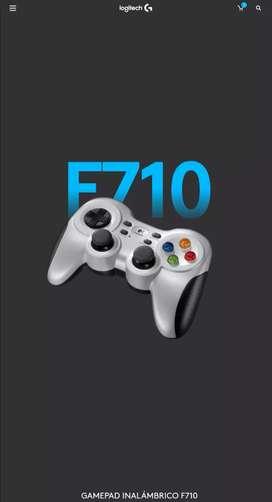 Gamepad Logitech F710 Nuevo