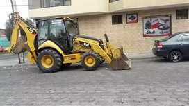 Vendo retroexcavadora 420E  caterpillar