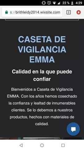 Fabrica de casetas de vigilancia EMMA