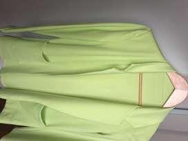 Saco verde fosforescente