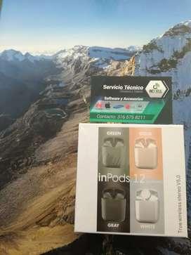 Envío Gratis Auriculares Bluetooth Inpods 12
