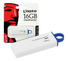 PEN DRIVE 16Gb KINGSTON  USB3.0/3.1 DATATRAVELER ENVÍOS