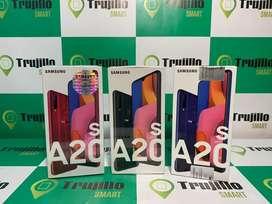 Samsung Galaxy A20s 32 gb caja sellada 1 año garantia