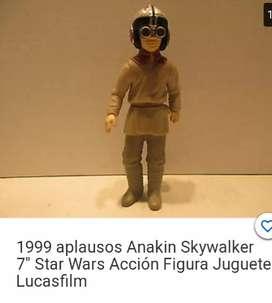 "Figura AnakinSkywalker 7"" Star Wars 1999 Lucasfilm"