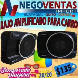 BAJO AMPLIFICADO DE CARRO