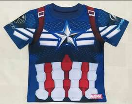 Camiseta AVENGERS CAPITAN AMÉRICA