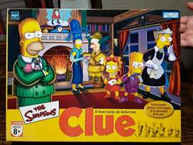 Juego CLUE The Simpsons (Hasbro)