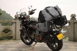 MALETA POSTERIOR MOTO touring dual 100% IMPERMEABLE 40 LITROS DRYPAK