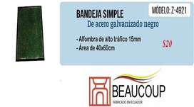 BANDEJAS PARA DESINFECCION DE CALZADO