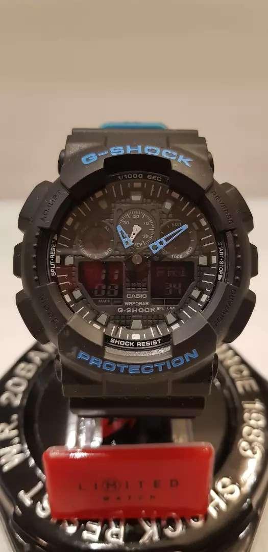 Reloj Casio G-Shock Resist 5081 GA-100L Antimagnetic, Shock Absorbing Structure. 0