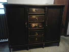 armario (chifonier de madera de cedro) con cinco