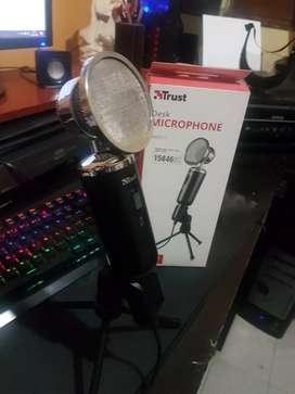 Microfono trust gamer