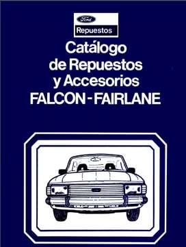 CATALOGO DE TARTES FORD FALCON FORD FAIRLANE