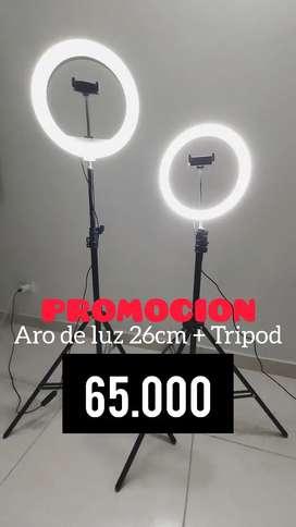 Aro de Luz + Tripod en promocion