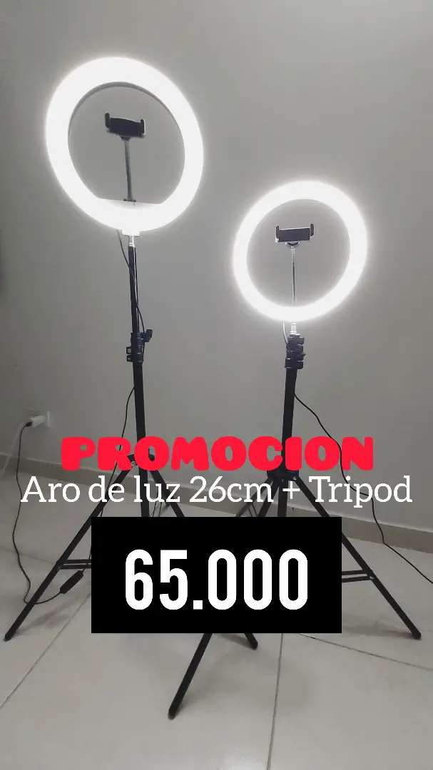 Aro de Luz + Tripod en promocion 0