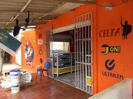 Venta de negocio con inmueble en Galapa