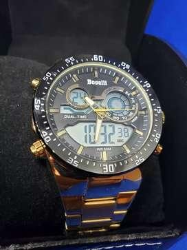 Relojes de acero para hombre