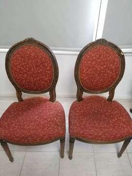 2 sillas antiguas