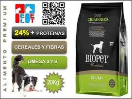 Biopet Premium Perro Adulto 20Kg.
