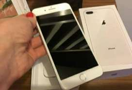 Iphone 8 plus 64gb silver 10/10