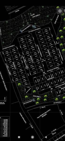 Vendo lote en urbanización Santa Isabell